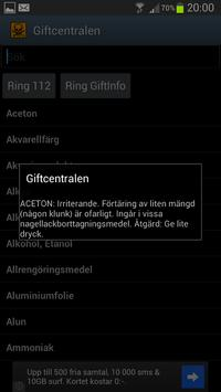 Giftcentralen screenshot 1
