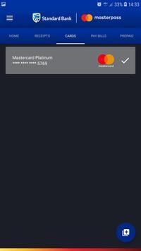 Standard Bank Masterpass screenshot 2