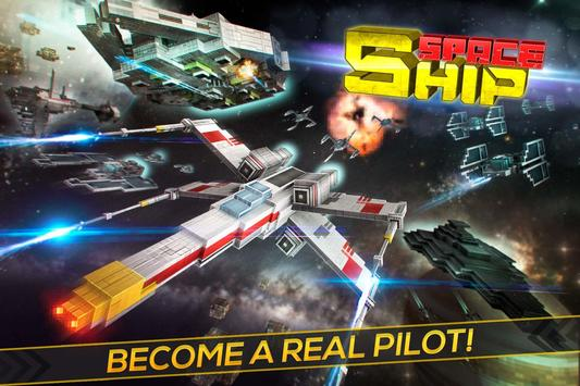 Space Ship Flight Simulator 3D poster