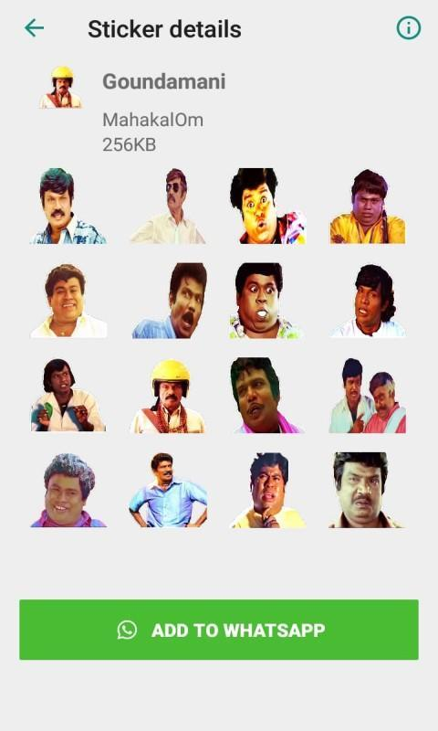 Tamil Stickers For WhatsApp:WAStickersApp for Android - APK