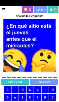 Adivinanzas, Chistes y Acertijos de Lógica Gratis screenshot 4
