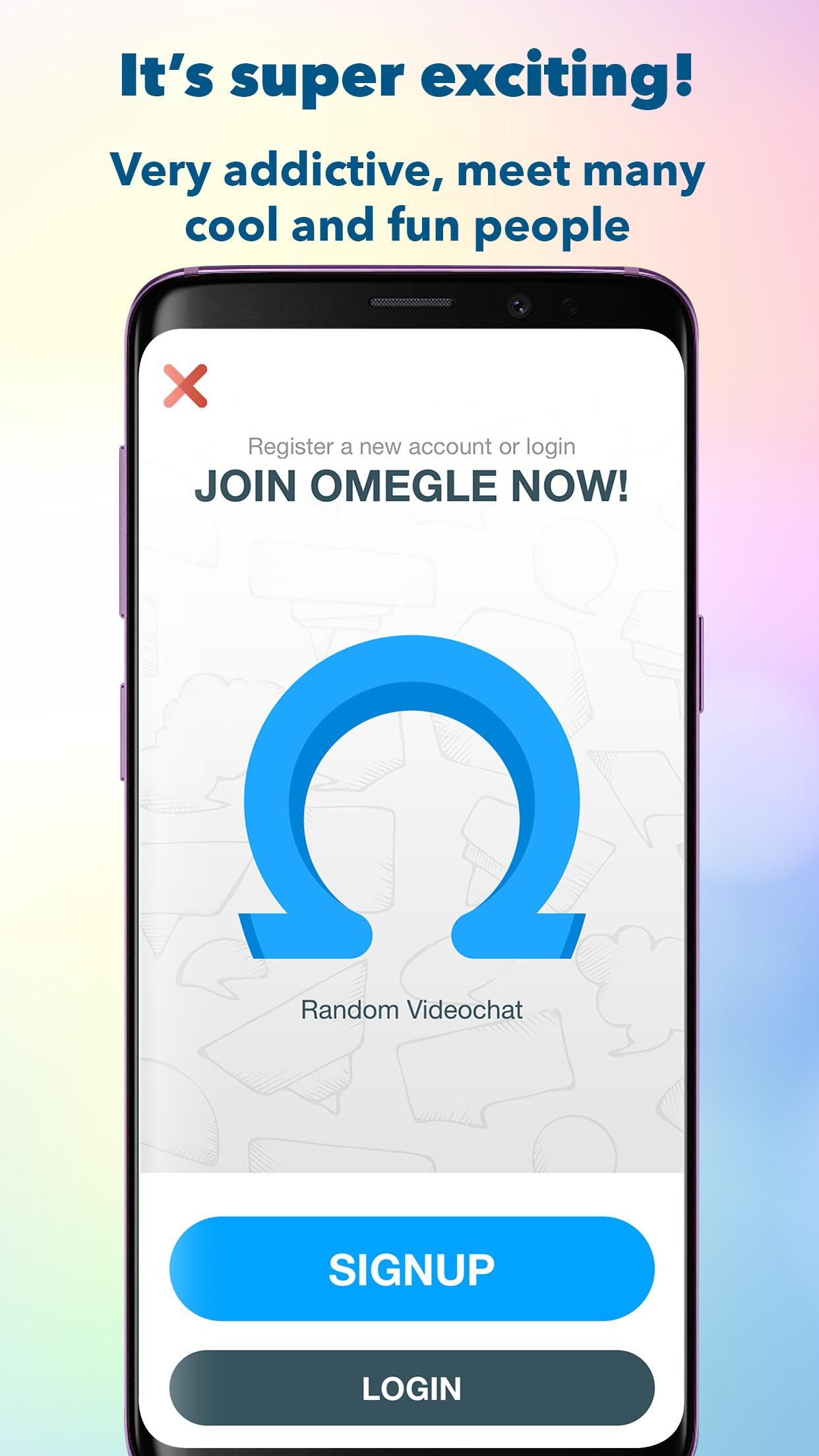 omegle play store