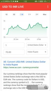 USD TO INR LIVE for Android - APK Download