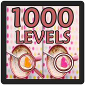 Spot 5 Differences 1000 levels icon