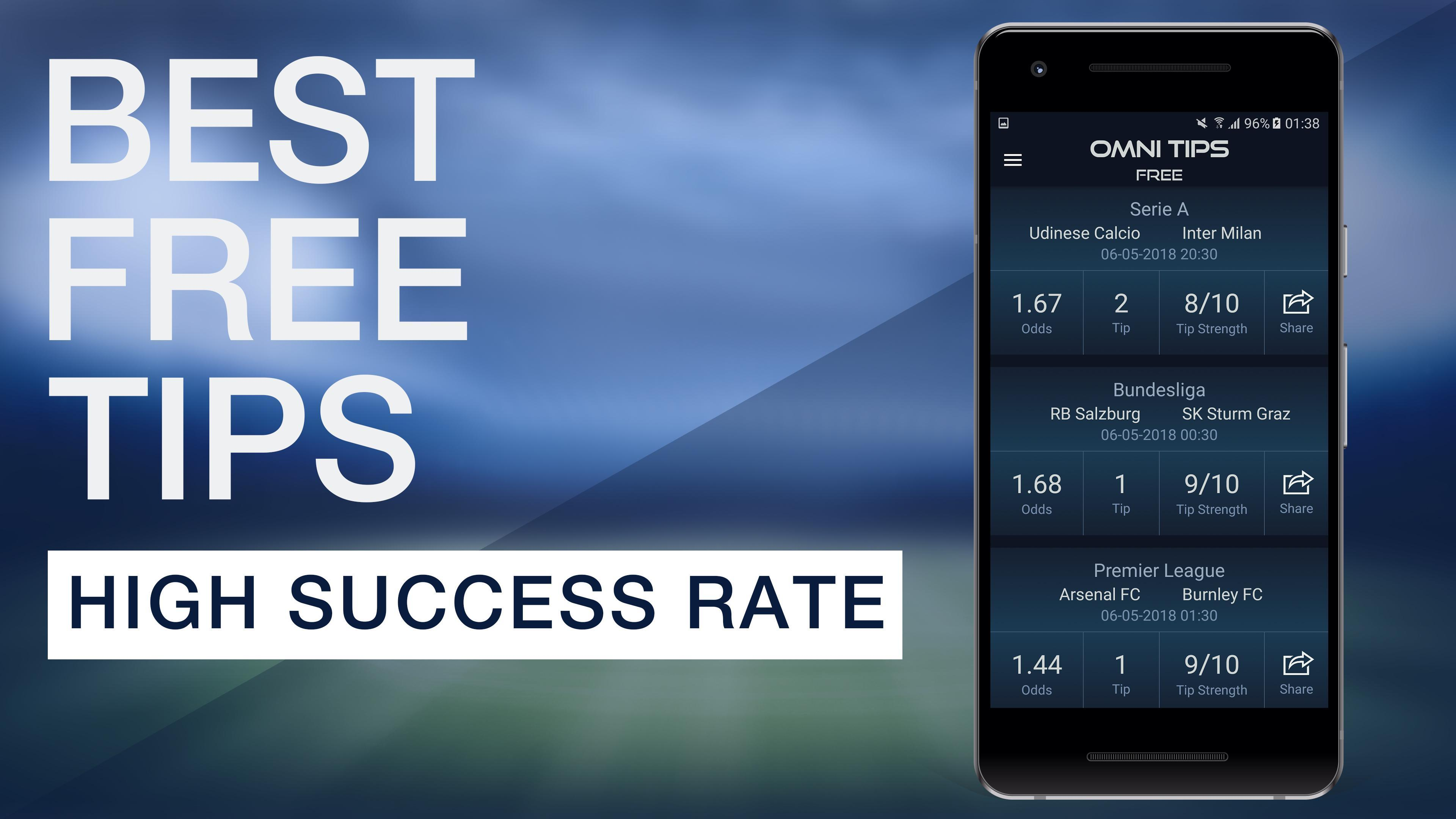 OmniTips - Best Football Betting Tips, Predictions for Android - APK