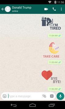 Night & Evening WhatsApp Stickers screenshot 2