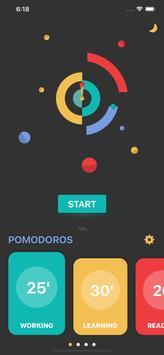 Pomodoro ảnh chụp màn hình 2
