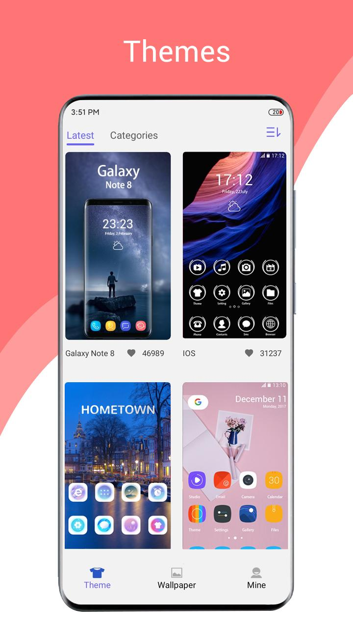 One S20 Launcher for Android - APK Download