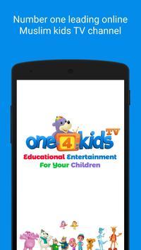 One4kids TV Affiche