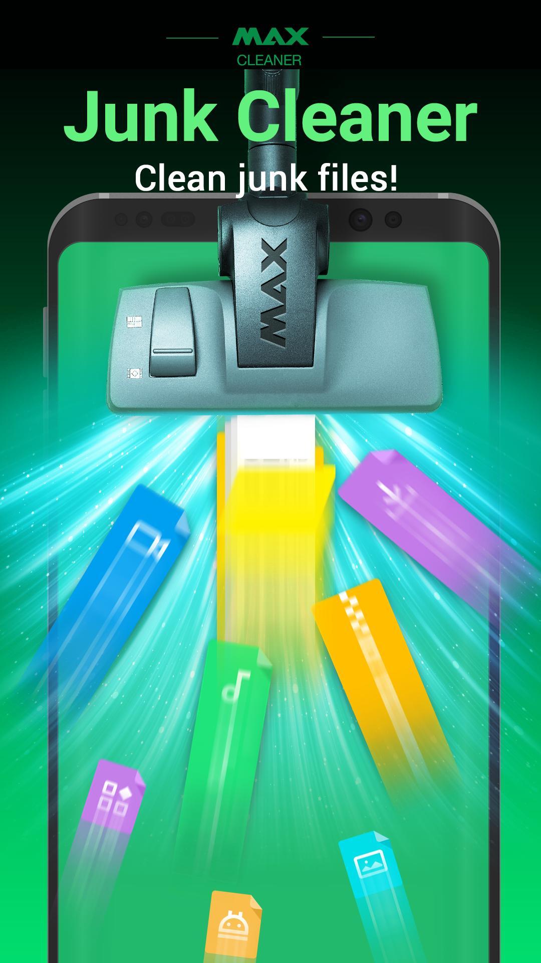 Aplikasi android game MAX Cleaner