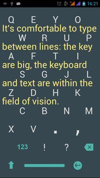 1C Big Keyboard screenshot 1