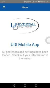 UDI Mobile screenshot 1