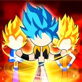 Stickman Battle Fight: Legendary Dragon Warrior icon