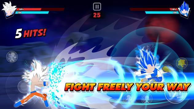 Stickman Battle Fight: Legendary Dragon Warrior poster