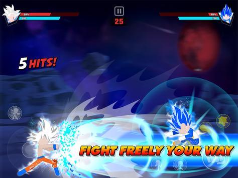 Stickman Battle Fight: Legendary Dragon Warrior screenshot 10