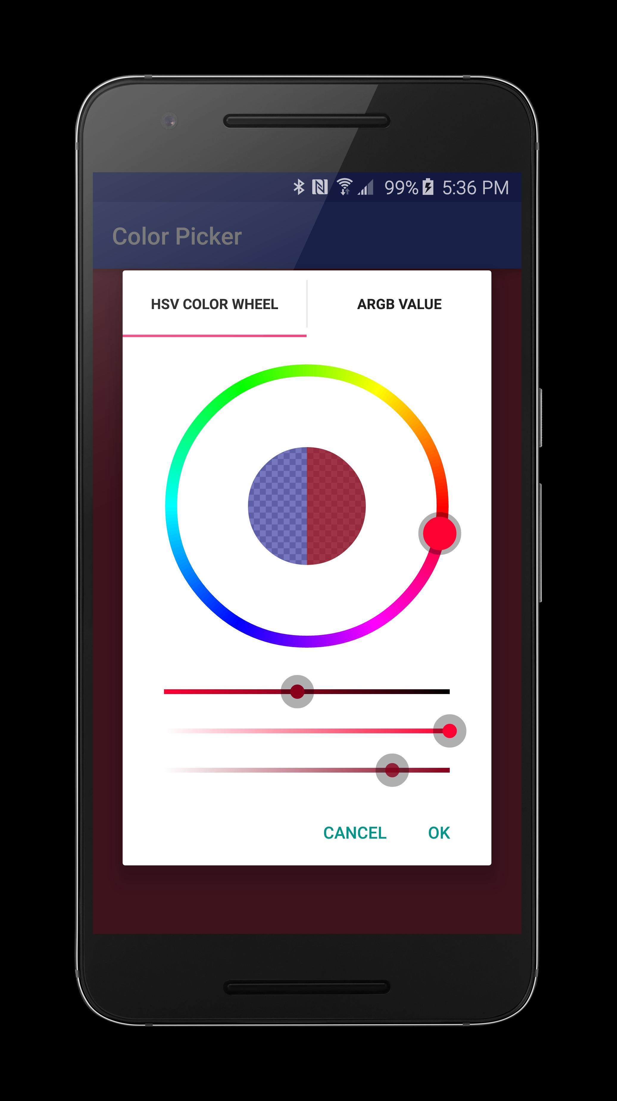 Android Image Picker color picker demo for android - apk download