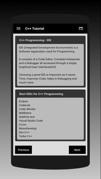 C++ Tutorial - Learn Coding for Free screenshot 4