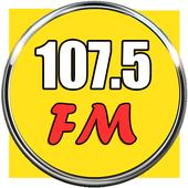 radio 107.5 fm 107.5 radio app station icon