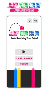 Jump Over Your Color poster