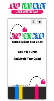 Jump Over Your Color screenshot 1