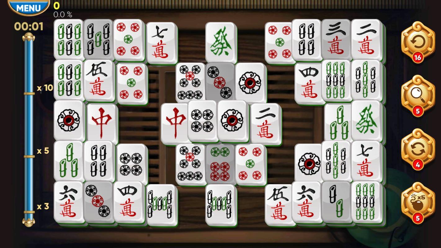 Permainan gem Mahjong