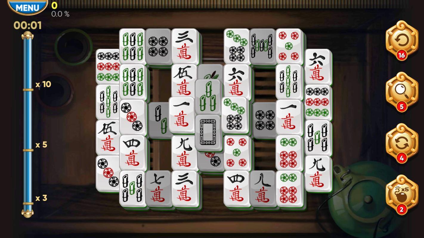 Permainan gem gratis Mahjong