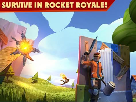 Rocket Royale Affiche