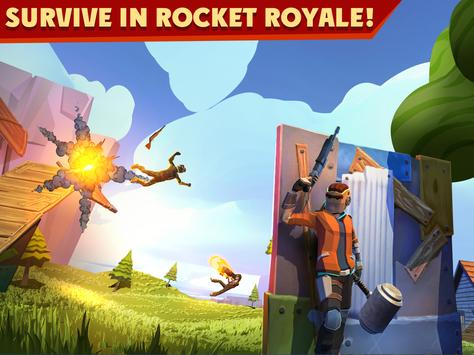 Rocket Royale Poster
