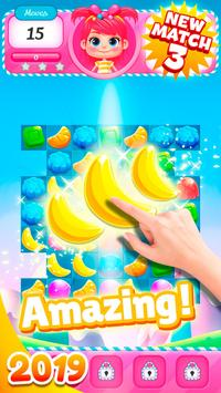 Big Sweet Bomb - Candy match 3 game ⭐❤️🍬🍧⭐ poster