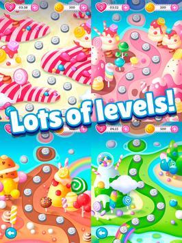 Big Sweet Bomb - Candy match 3 game ⭐❤️🍬🍧⭐ screenshot 11