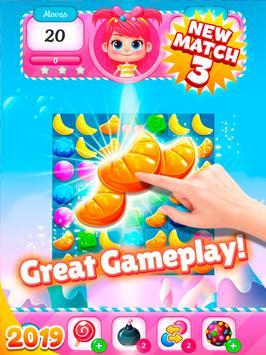 Big Sweet Bomb - Candy match 3 game ⭐❤️🍬🍧⭐ screenshot 12
