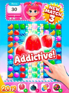 Big Sweet Bomb - Candy match 3 game ⭐❤️🍬🍧⭐ screenshot 17