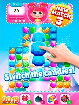 Big Sweet Bomb - Candy match 3 game ⭐❤️🍬🍧⭐ screenshot 18