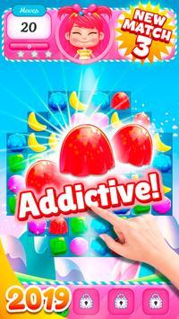 Big Sweet Bomb - Candy match 3 game ⭐❤️🍬🍧⭐ screenshot 1