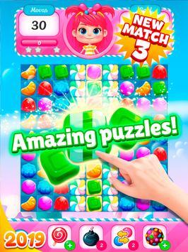 Big Sweet Bomb - Candy match 3 game ⭐❤️🍬🍧⭐ screenshot 22