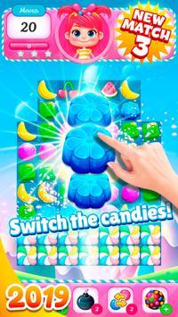 Big Sweet Bomb - Candy match 3 game ⭐❤️🍬🍧⭐ screenshot 2