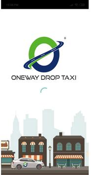 ONEWAY DROP TAXI poster
