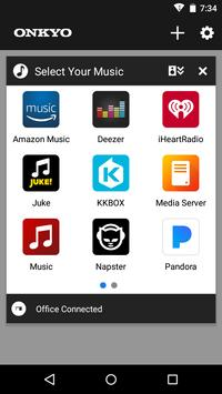Onkyo Music Control App 截图 1