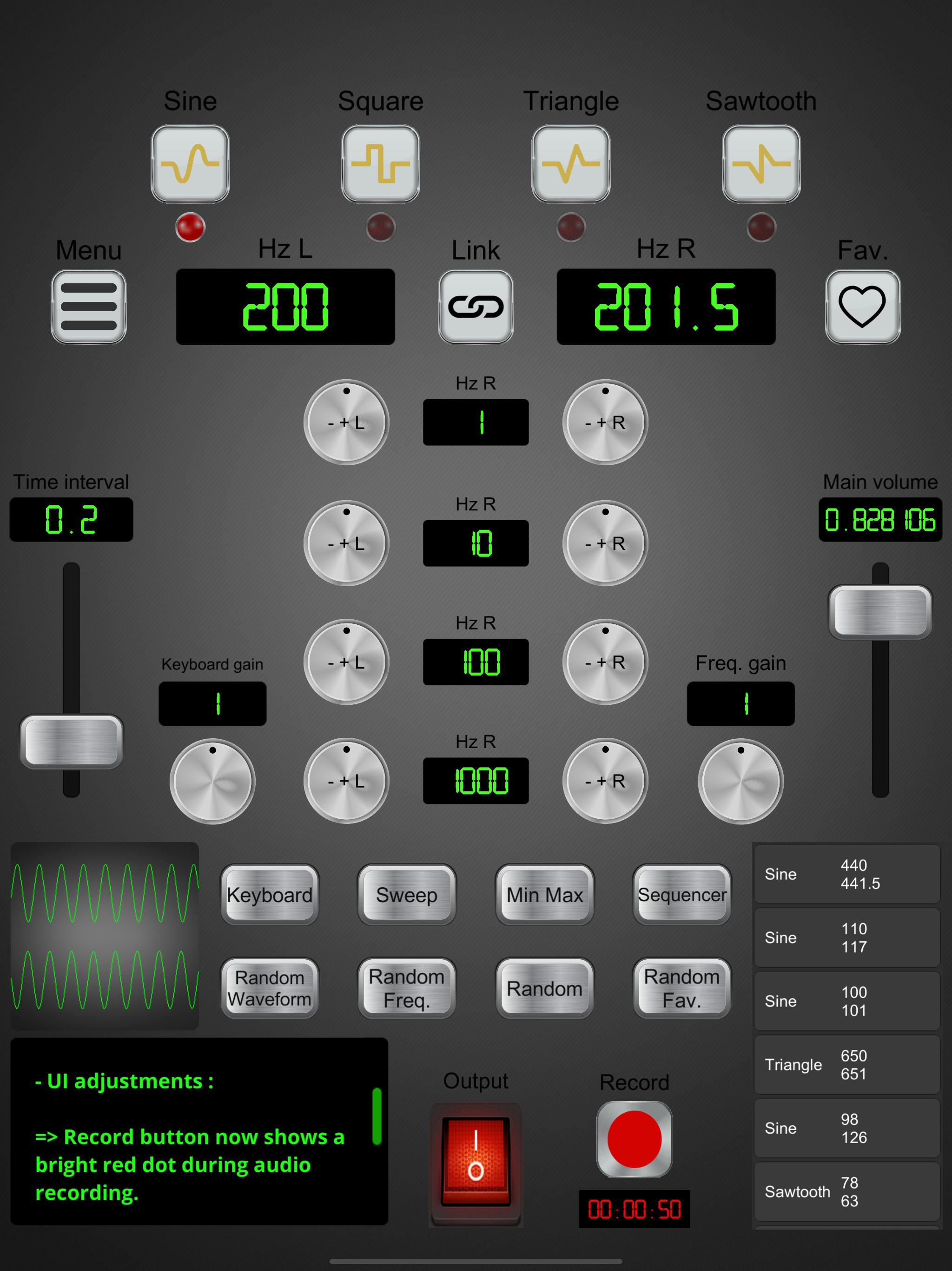 Audio Frequency Signal Generator for Android - APK Download