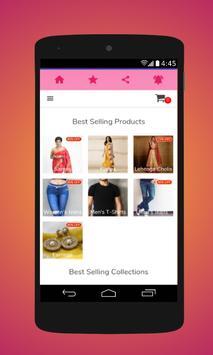 Shopping cart screenshot 5