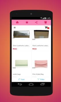 Shopping cart screenshot 1