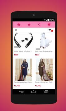 Shopping cart screenshot 2