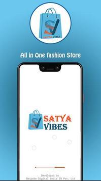 SatyaVibes- Fashion Shopping Online poster
