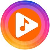 Music player for youtube-play music in background icon