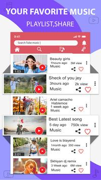 Music player for youtube-play music in background screenshot 3
