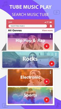 Music player for youtube-play music in background poster
