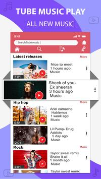 Music player for youtube-play music in background screenshot 1