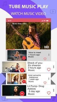 Music player for youtube-play music in background screenshot 2