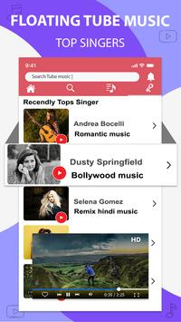 Music player for youtube-play music in background screenshot 4