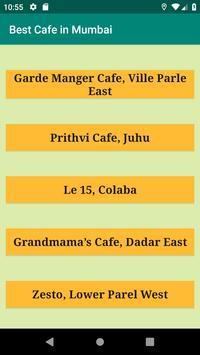Best Cafe in Mumbai poster
